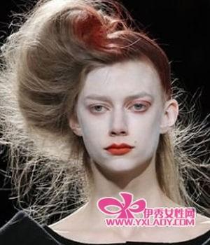 染发 头发/挑染会让你的头发更有吸引力