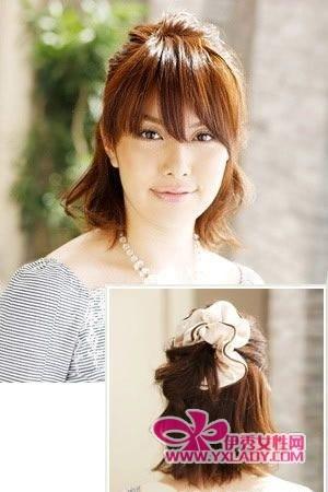 侧编的头发-今夏各种花样日系发型扎法图片