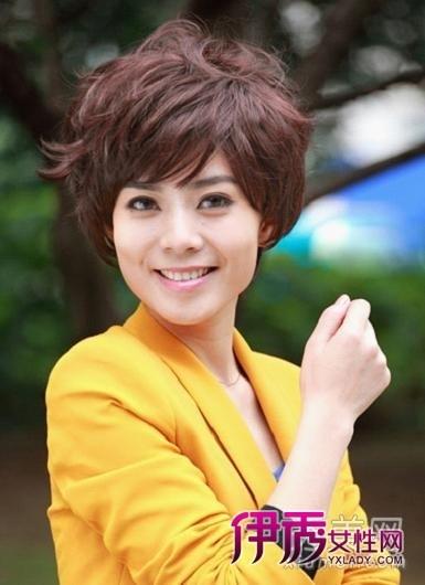 职业女职业女性气质发型