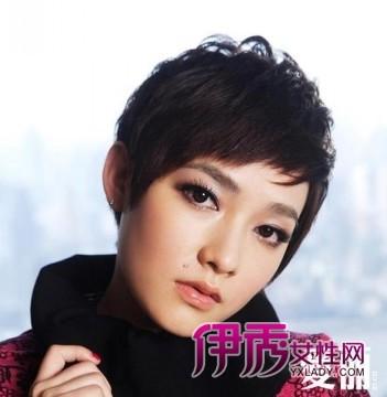 盘点短发美女明星演绎别样风味(6)_明星发型