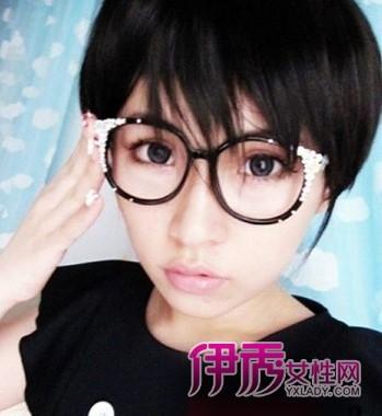 韩版女学生短发发型图片 活力无限青春接力赛小编点评:活力无限的斜