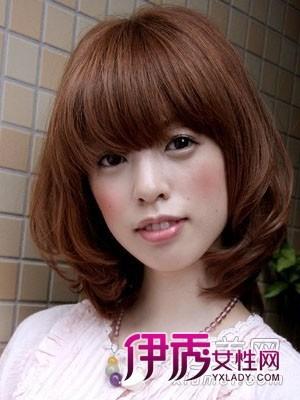今冬最流行头发颜色图片头发空气(3)_流行发型内扣短头发图片刘海栗色发型2015款图片