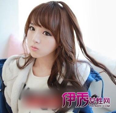 2018新韩式发型扎法中长发短发扎法齐嘴发型后面的图图片