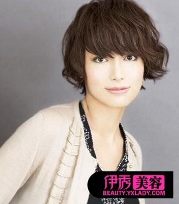 长发刘海发型图片 演绎百变风格(9)_流行发型_