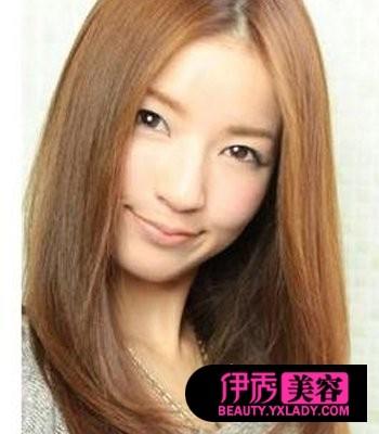 女士发型设计 中长发_2018流行40岁烫头发型 chunji.cn