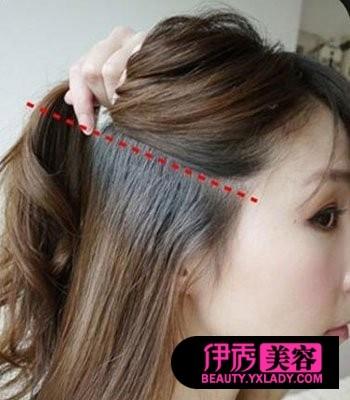 怎样梳理头发才好看_简单的梳理头发发型头发怎么扎整齐有好看怎