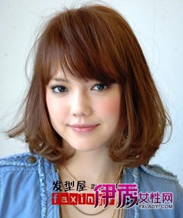 15个适合国字脸女生的发型!图片
