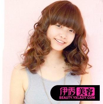 直发花苞头的扎法图解新年造型(10)_DIY女人图片v造型头发发型发型中长图片