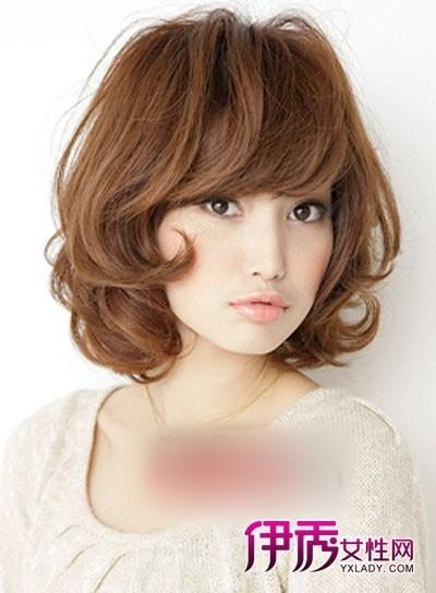 中短发烫发发型设计 型范时尚打造