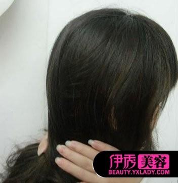 发型设计步骤图片-怎样扎头发简