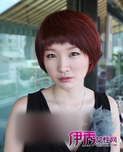 年度最流行的韩式短发烫发发型图片图片图片