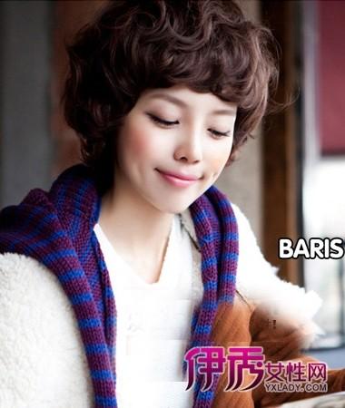 发型|韩式|卷发|气质|韩式短发烫发发型