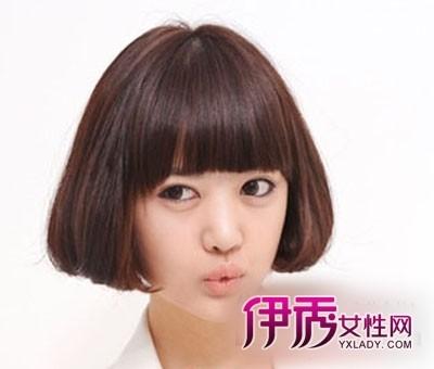 式短发发型图片_韩式短发发型图片女_韩式短发烫发 .