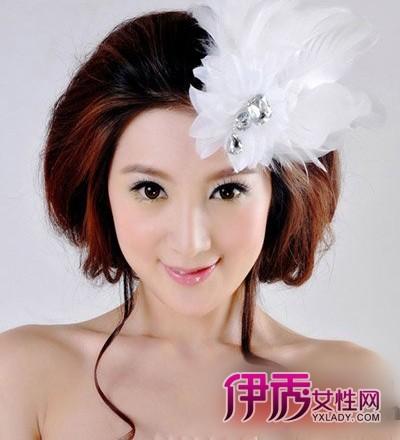 2012年唯美浪漫韩式新娘发型推荐