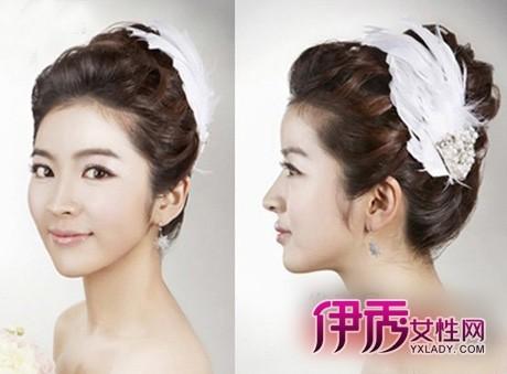 韩式最in新娘发型新娘造型韩式盘发发型