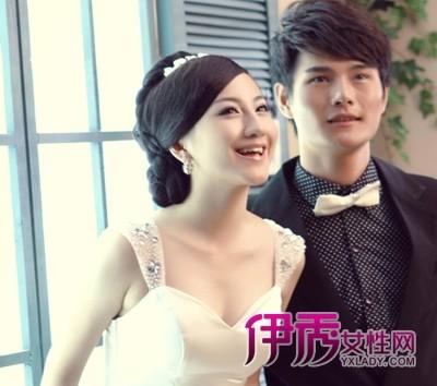 韩式新娘发型 晚装优雅出席