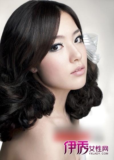 7款韩式中长发新娘发型 高贵优雅