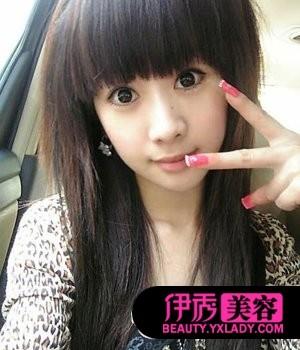 非主流2012图片_2012年韩国最新非主流个性发型图片