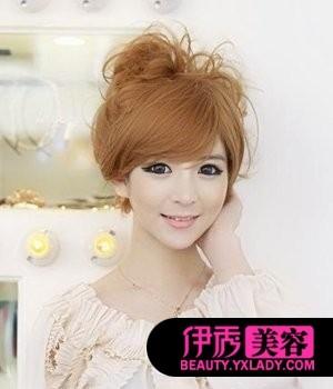 非主流盘发发型 http://beauty.yxlady图片