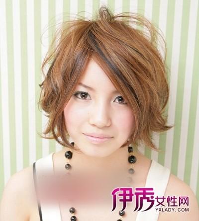 五款宽脸女生适合发型 大脸女生瘦脸发型设计图片