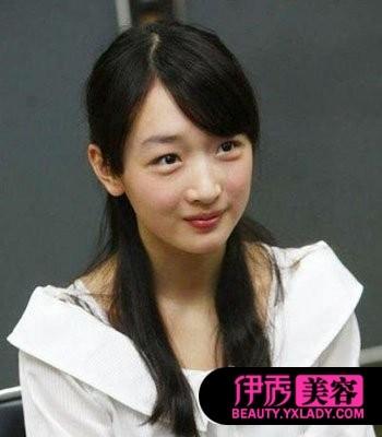 发型中梨花烫发发型新年新气象(8)_流行女生_齐刘海长发头前后图图片