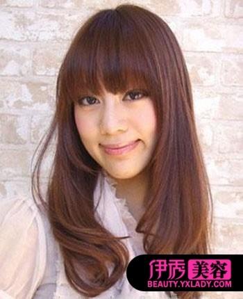刘海发型 让你的脸型更加完美