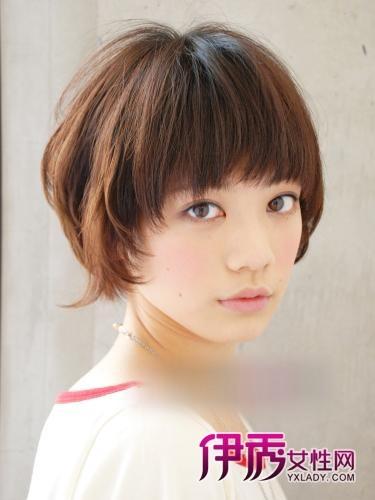 短发|修饰脸型|卷发|大脸短发发型