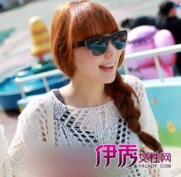 韩式扎发发型设计图片 百变女王发型盘点