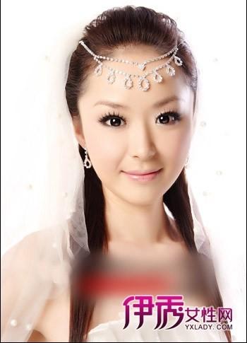 时尚中式新娘发型图片