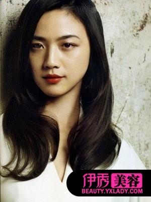 孙艺珍长发发型