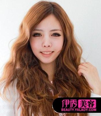 染发发型脸色卷颜色v发型发型卷翘a发型好看正文暖色系的发黑发型流行适合什么女生头发动人图片