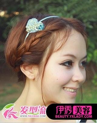麻花辫 6款不同风格发型设计