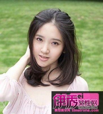初春流行女生发型图片 长发俏丽短发清爽图片