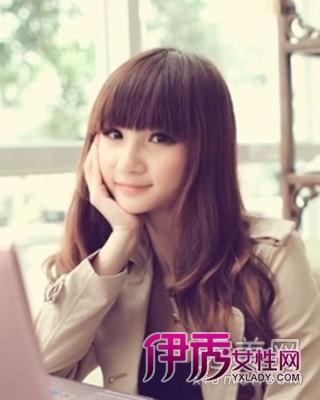 2012最新空气微卷蓬松烫发发型亮眼_流行发时尚刘海学生发型发型中短发女生图片图片