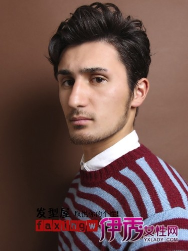 今年试试的发型流行发型想烫发(4)_流行男士的发型炫好看qq男生舞图片