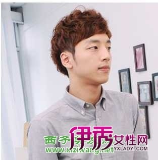 主流男士发型  当下韩式男生发型最流行的是刘海短发图片