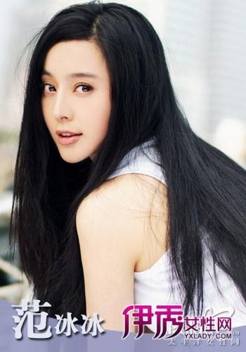 长发直发发型设计_流行发型 (350x500)图片
