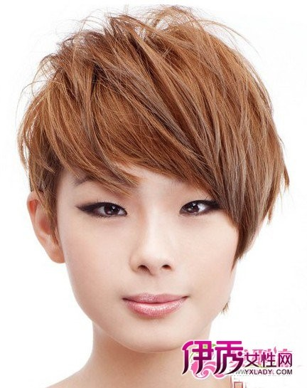 2011球头图片精选女生短流行BOB头最烫发(2瑞虎3下支臂型号发型图片