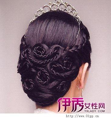告别老式的新娘发型,下面为你介绍6款韩国最新新娘盘发,学习一下,在那图片