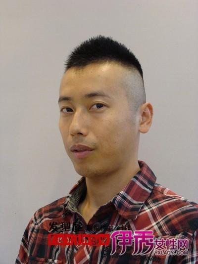 七款男士最新流行短发发型