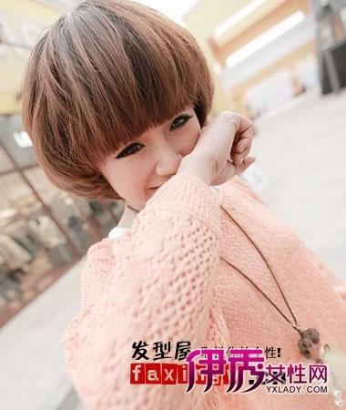 2012年短发短发人气齐刘海发型女生最高(2)_韩式短发艺术照图片