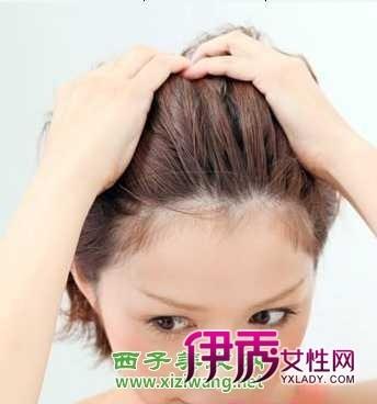 韩式短发发型扎法图解图片