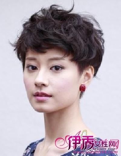2012最新清凉女生超短发 帅气又养眼(6)_流行