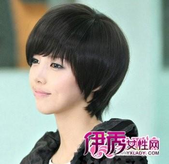 【图】韩式短发烫发发型 韩国时尚人气发型图片