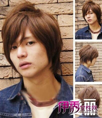 轻易瘦脸 六款男生宽脸适合发型