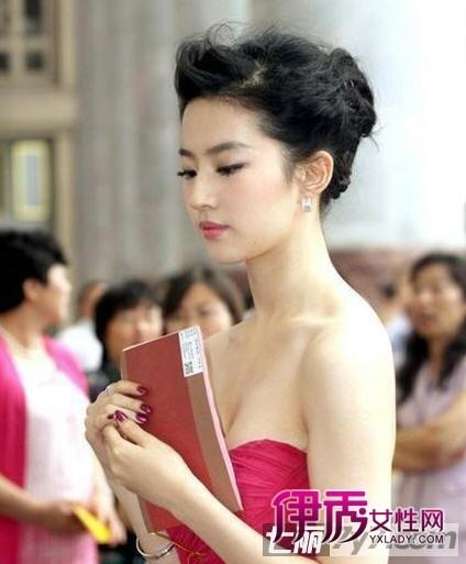 神经姐姐刘亦菲,短发发型