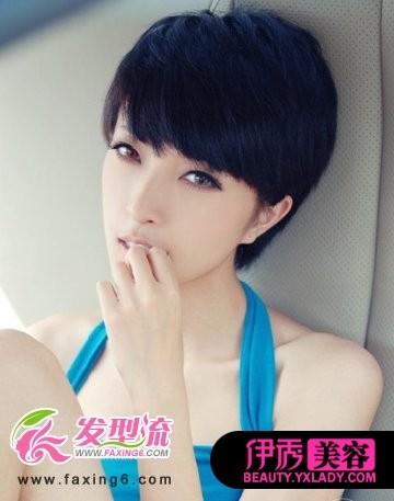 短发发型图片2014女的图片图片