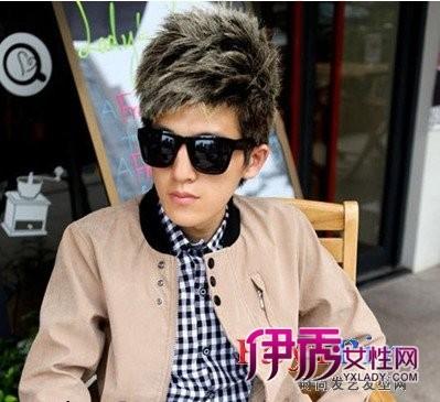 2012春夏季最帅气流行的男生短发发型