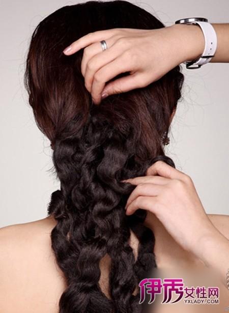 欧式新娘创意发型