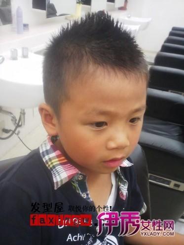 11款小男孩发型图片 辣妈轻松设计小孩子适合发型